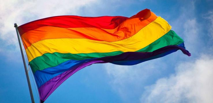 Vlag uit voor Coming Out Day